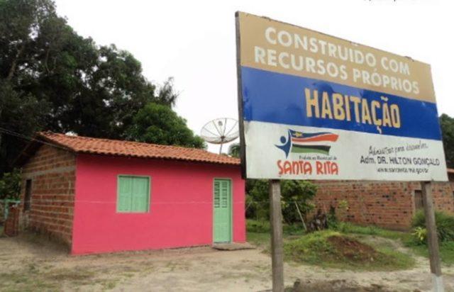 Prefeito de Santa Rita Hilton Gonçalo já entregou mais de 700 moradias para a população do município