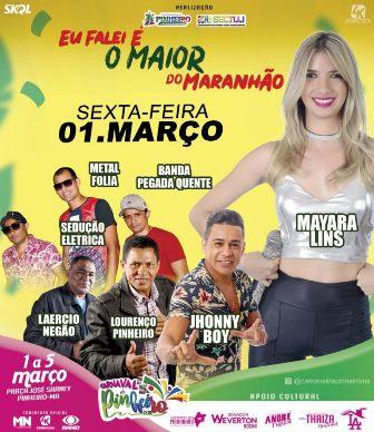 Pinheiro 2019 –  Tudo pronto para o melhor carnaval do Maranhão