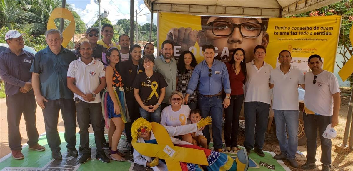 Detran-MA participa de ação social no Coquilho