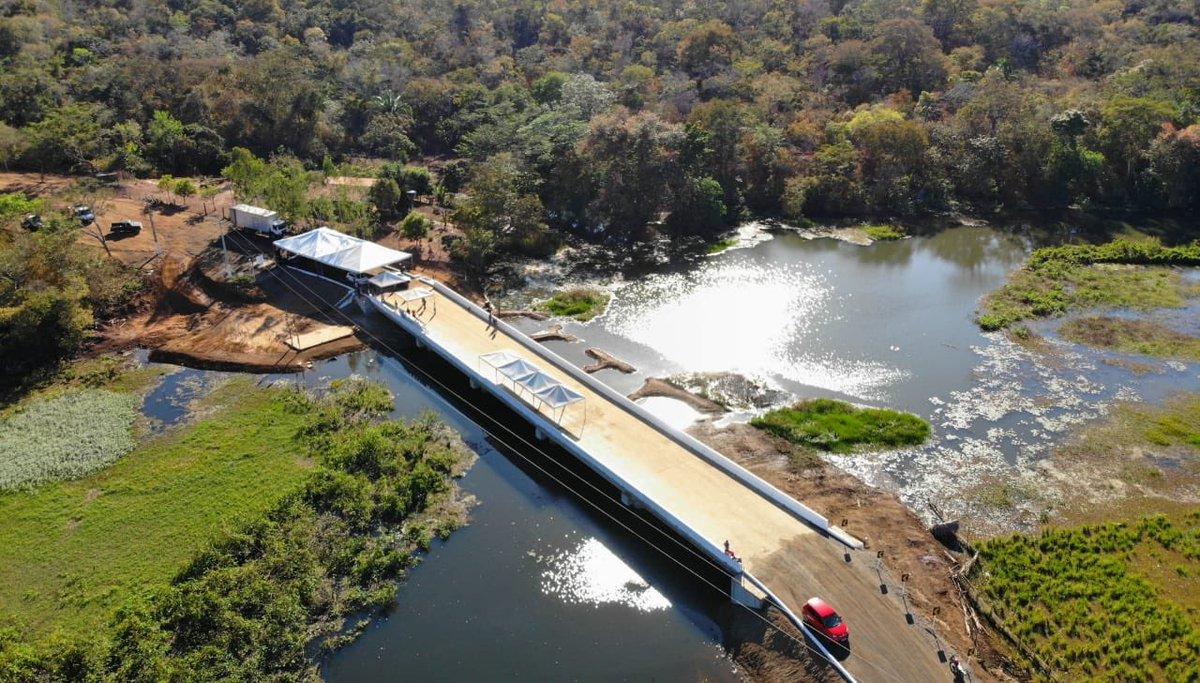 Governo do Estado e Prefeitura de Nova Iorque fazem entrega da ponte sobre o Riacho da Pedra de Fogo