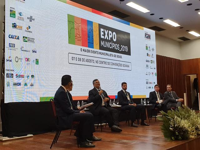 Em Goiânia, Flávio Dino defende integração entre o Maranhão e o Centro-Oeste