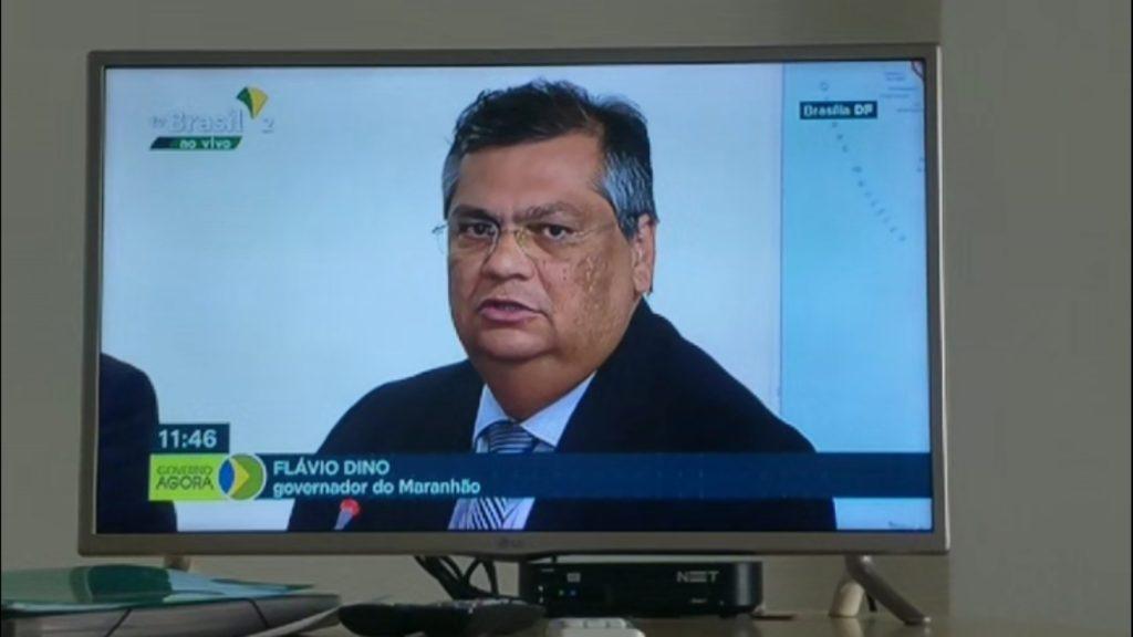 Flávio Dino pede equilíbrio  no encontro  com Bolsonaro: 'É preciso moderação'