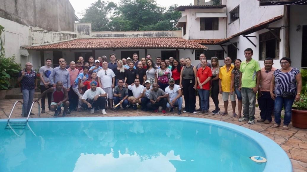 Rubens Júnior mantém agenda intensa com lideranças políticas de São Luís