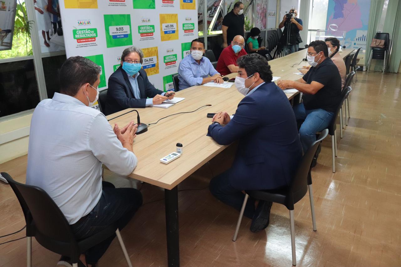 Vereadores discutem com secretário ações de combate ao Coronavírus em São Luís