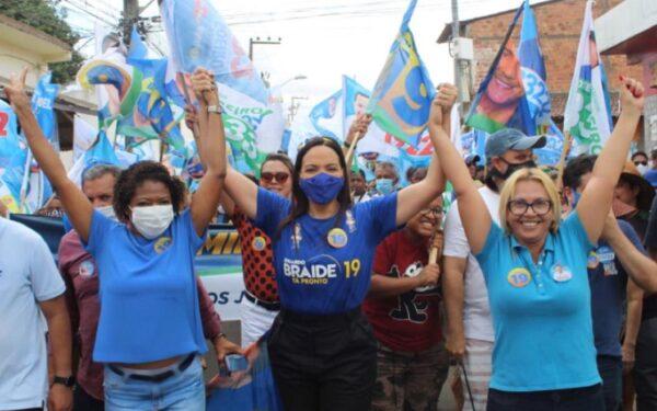 A força da mulher na campanha de Braide e Octávio Soeiro