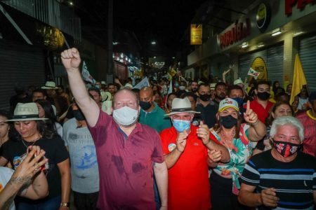 Vargem Grande: Othelino reforça apoio à reeleição de Carlinhos Barros…