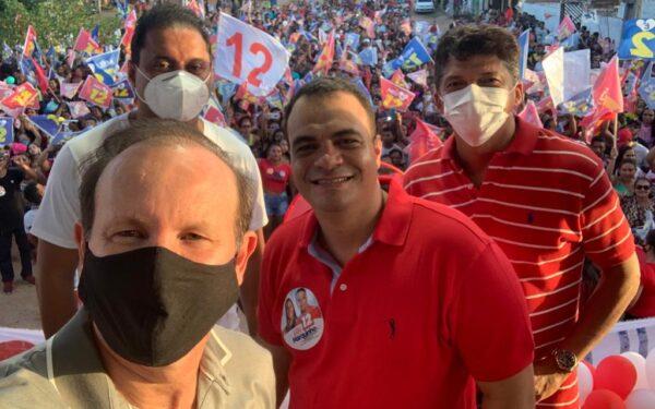 De norte a sul do estado, deputado Márcio Honaiser participa de agendas de amigos candidatos…