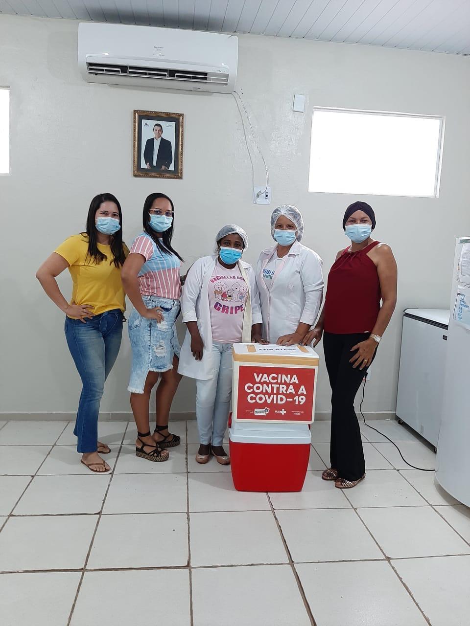 Prefeitura de Santa Rita inicia vacinação contra a Covid-19…