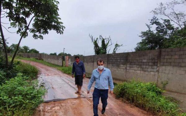 Prefeitura de Santa Rita intensifica recuperação de vias…