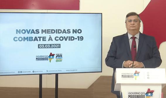 Flávio Dino estabelece medidas mais restritivas durante dez dias…
