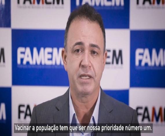 Presidente da Famem orienta aos prefeitos barreiras sanitárias e vacinação durante feriado prolongado…