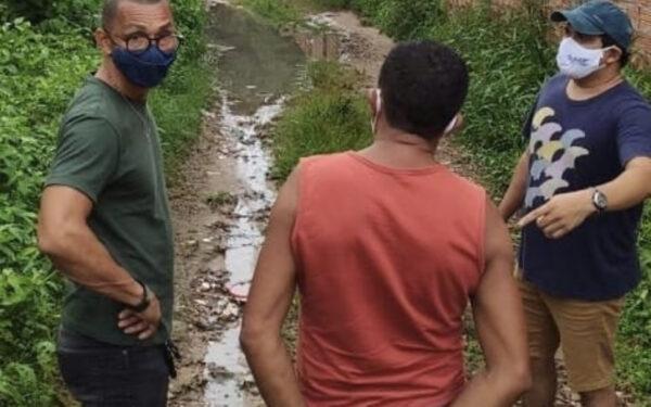 Vereador Dodó de Santaninha e Eduardo Nojosa buscam melhorias para o Rio São João…