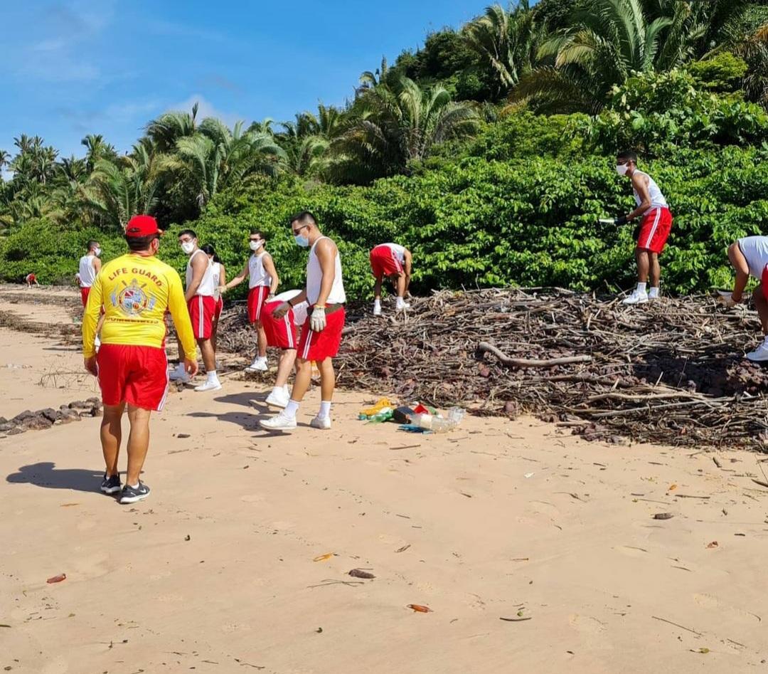 Bombeiros fazem ação pelo Meio Ambiente em Ribamar…
