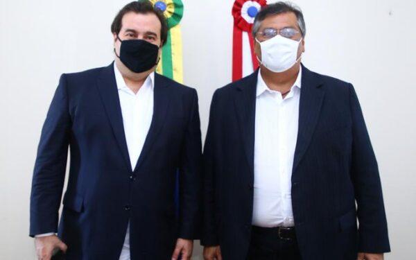 Rodrigo Maia e Flávio Dino se aproximam…