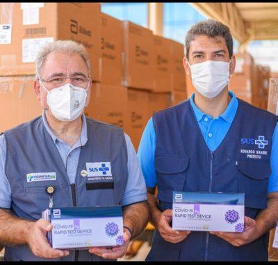 Braide comemora 13,6 mil vacinados em um dia em SLZ…