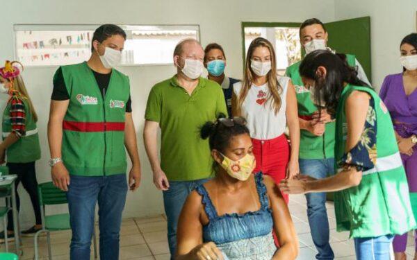 Após solicitação de Othelino, Pinheiro recebe Arraial da Vacina e avança na imunização…