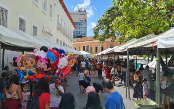 Retomada da Feirinha São Luís é sucesso no centro da cidade…
