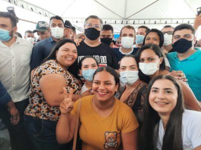 Com mais de 80% de aprovação, Fernando Pessoa é aplaudido em Tuntum…
