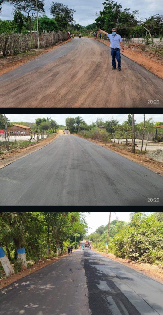 Santa Rita: Hilton Gonçalo desenvolve maior programa de asfaltamento do Munim…